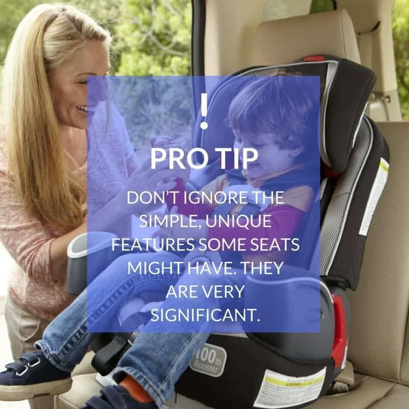 Baby Car Seat Features
